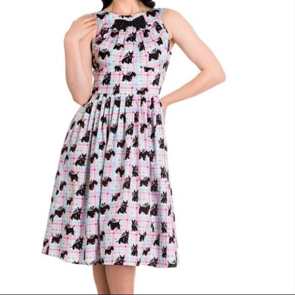 149fc4fab4c Hell Bunny Dresses   Skirts - Hell Bunny Scottie Dog Dress XL 2XL Rockabilly